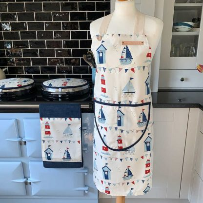 Boats Apron on mannequin
