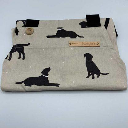 Labrador Beige Apron folded