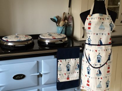 Boat design apron, Aga covers & roller towel | Smithy & Co