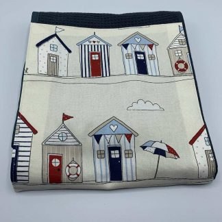 Beach Hut Roller Towel