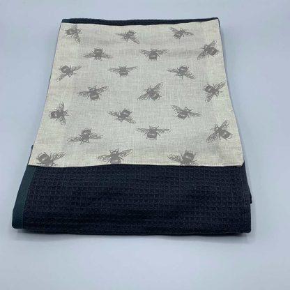 Bumblebee Roller Towel Beige
