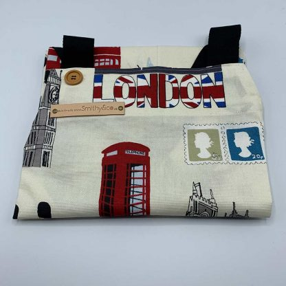 London Apron folded