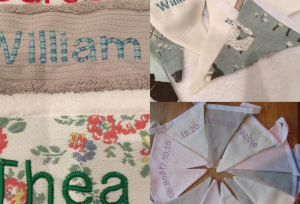 Personalised Baby towels and Bunting