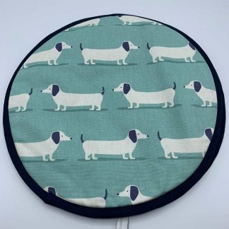 Hound Dog Duck Egg Aga Cover