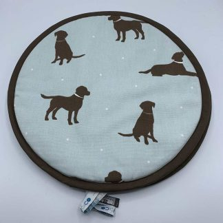 Labrador Duck Egg Aga Cover