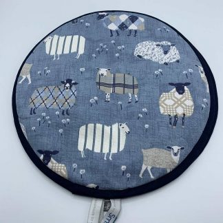 Navy Sheep Aga Cover