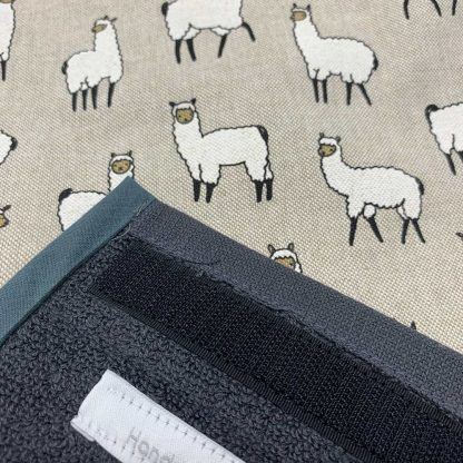 Alpaca Roller Towel Beige detail