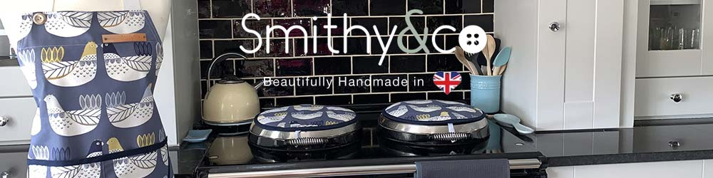 British made aprons and Aga covers   Smithy&co