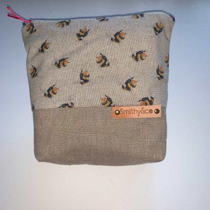 Bumblebee Beige Base Make Up Bag