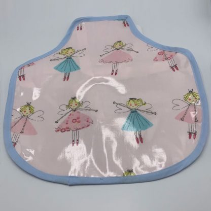 Children's Fairy Apron - small with blue trim