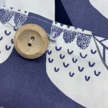 Cluck Cluck Blue Bird Apron button