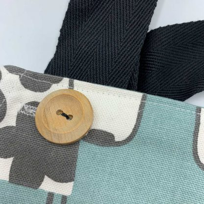 Cow Duck Egg Apron button