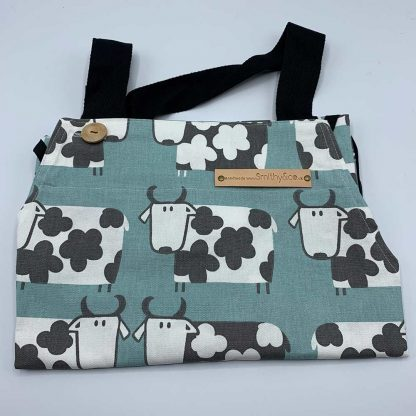 Cow Duck Egg Apron folded