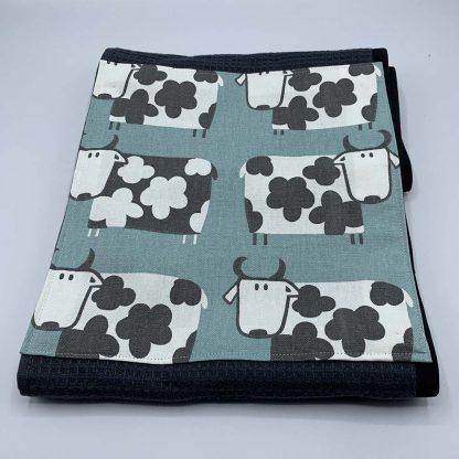 Cow Duck Egg Roller Towel