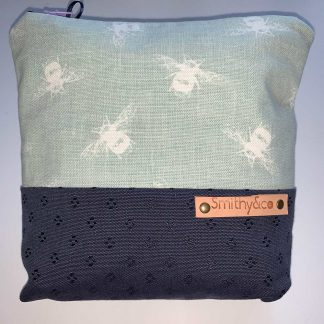 Duck Egg Bee Make Up Bag