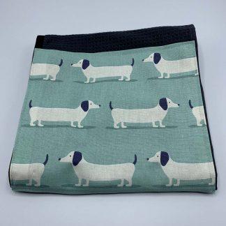 Hound Dog Duck Egg Roller Towel