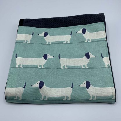 Hound Dog Duck Egg Roller Towel