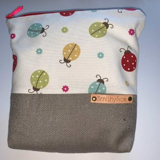 Ladybirds Beige Base Make Up Bag