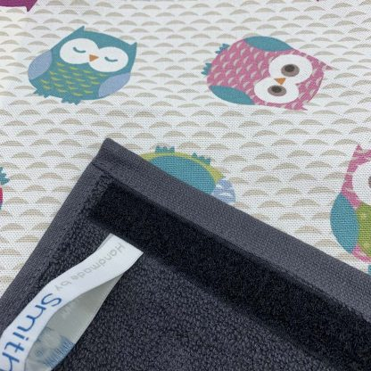 Owls Roller Towel detail