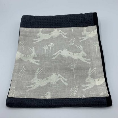 Silver Hare Roller Towel