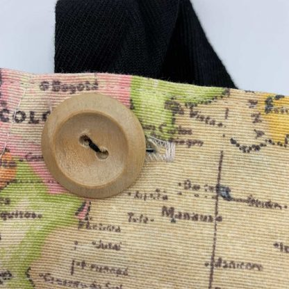 World Map Duck Egg Apron button