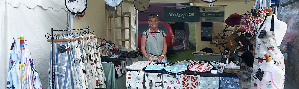 Smithy&co stall at an event